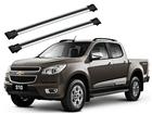 Rack Travessa de Teto para S10 2012 até 2015 - Projecar Prata Largo