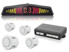 Sensor de Estacionamento TechOne Branco com Display