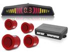 Sensor de Estacionamento TechOne Vermelho com Display