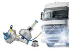 Lâmpada Novo Super LED H3 Caminhão Shocklight 24V-36V 6000K 35W 6400lm Plug & Play