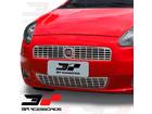Sobre Grade Aço Inox Fiat Punto 07/12 superior + inferior