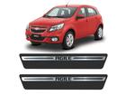 Soleira Premium Chevrolet Agile Aço Escovado