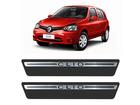 Soleira Premium Renault Clio Aço Escovado