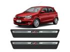 Soleira Premium Toyota Etios Aço Escovado