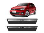 Soleira Premium Volkswagen Gol 4P Aço Escovado