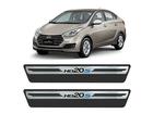 Soleira Premium Hyundai HB20S Aço Escovado