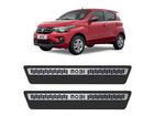 Soleira Premium Fiat Mobi Aço Escovado