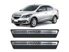 Soleira Premium Chevrolet Prisma Aço Escovado