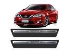 Soleira Premium Nissan Sentra Aço Escovado