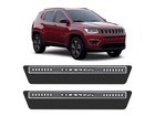 Soleira Premium Carbono para Jeep Compass 2017/..