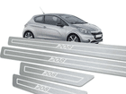 Soleira Standard Peugeot 208 Aço Inox Standard