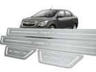 Soleira Standard Chevrolet Cobalt Aço Inox Standard