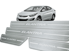 Soleira Standard Hyundai Elantra Aço Inox Standard