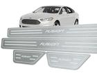 Soleira Standard Ford Fusion 2013 em Diante Aço Inox Standard