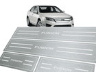 Soleira Standard Ford Fusion 2005/2012 Aço Inox Standard