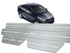 Soleira Standard Hyundai HB20S Aço Inox Standard