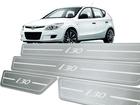Soleira Standard Hyundai i30 09/13 Aço Inox Standard