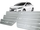 Soleira Standard Hyundai i30 2013 em Diante Aço Inox Standard