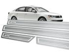 Soleira Standard Volkswagen Jetta 2011 em Diante Aço Inox Standard