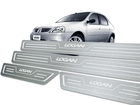 Soleira Standard Renault Logan 07/13 Aço Inox Standard