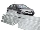 Soleira Standard Renault Megane Aço Inox Standard
