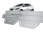 Soleira Standard Chevrolet Onix Aço Inox Standard