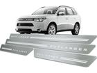 Soleira Standard Mitsubishi Outlander Aço Inox Standard