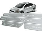 Soleira Standard Nissan Sentra 07/13 Aço Inox Standard