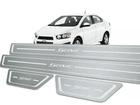 Soleira Standard Chevrolet Sonic Aço Inox Standard
