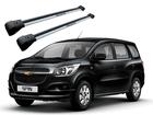 Rack Travessa de Teto para Chevrolet Spin - Projecar Prata Largo