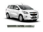 Soleira de Porta Resinada Aço Escovado para Chevrolet Spin – NP Adesivos