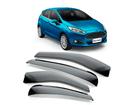 Calha de Chuva para New Fiesta Hatch 11/17 Modelo Super Calha Fumê
