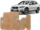 Tapete Carpete BMW X1 2010/.. Bege 5 Peças