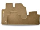 Tapete Carpete Captiva Bege 3 peças