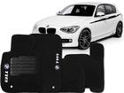 Tapete Carpete BMW 118 11/.. Preto 5 pçs