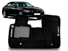 Tapete Carpete BMW 320i 2012/.. Preto 5 Peças