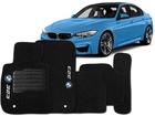 Tapete Carpete BMW 323 11/.. Preto 5 pçs
