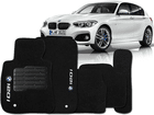 Tapete Carpete BMW 120i 2011/.. Preto 5 Peças