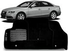 Tapete Carpete Audi A4 2009/.. Preto 5 Peças