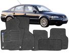 Tapete Carpete Volkswagen Passat 11/.. Preto 3 pçs
