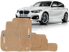 Tapete Carpete BMW 118i 11/.. Bege 5 pçs