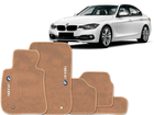 Tapete Carpete BMW 318i 11/.. Bege 5 pçs