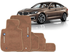 Tapete Carpete BMW 320 12/.. Bege 5 pçs