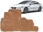 Tapete Carpete BMW 325 10/12 Bege 5 pçs