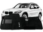 Tapete Carpete BMW X1 09/.. Preto 5 pçs