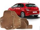 Tapete Carpete Citroen C4 Hatch 09/.. Bege 5 pçs