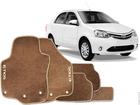 Tapete Carpete Etios Hatch/Sedan 13/.. Bege 5 pçs