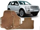 Tapete Carpete Land Rover Freelander 14/.. Bege 3 pçs