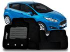 Tapete Carpete New Fiesta Hatch 2012/2014 - 5 Peças
