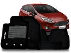 Tapete Carpete Fiesta Hatch / Sedan 2011/2013 Preto 5 Peças